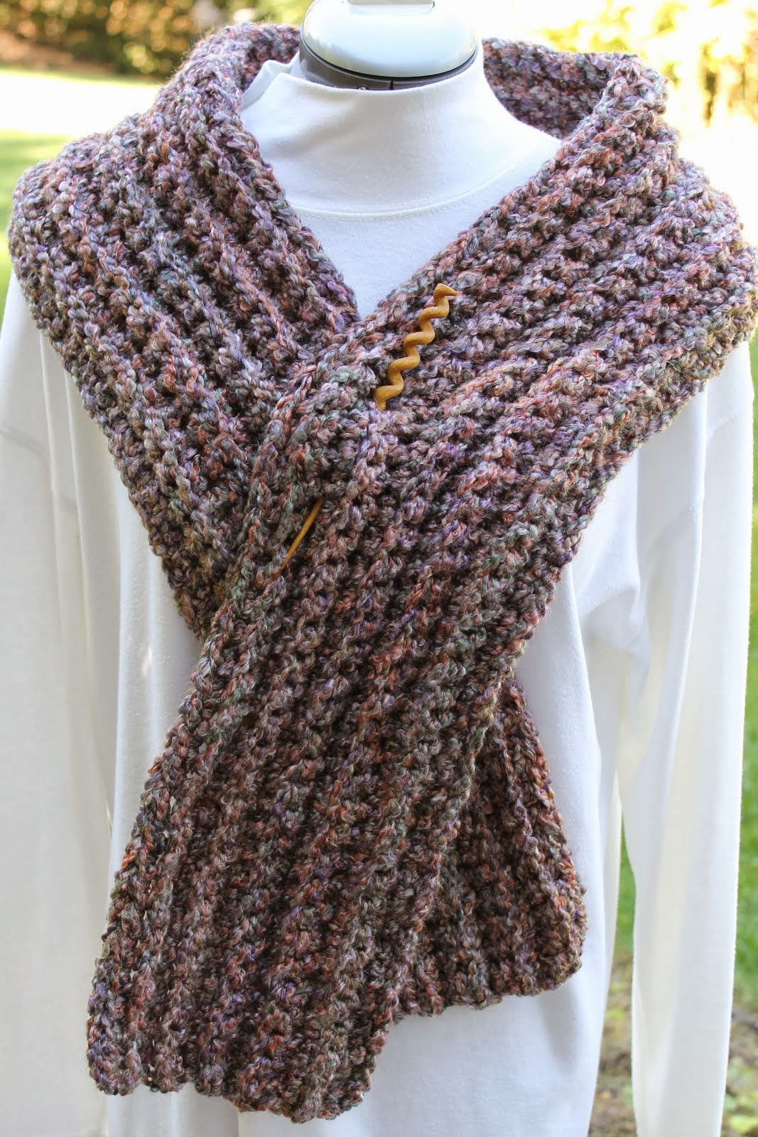 Soft and Warm Winter Scarf