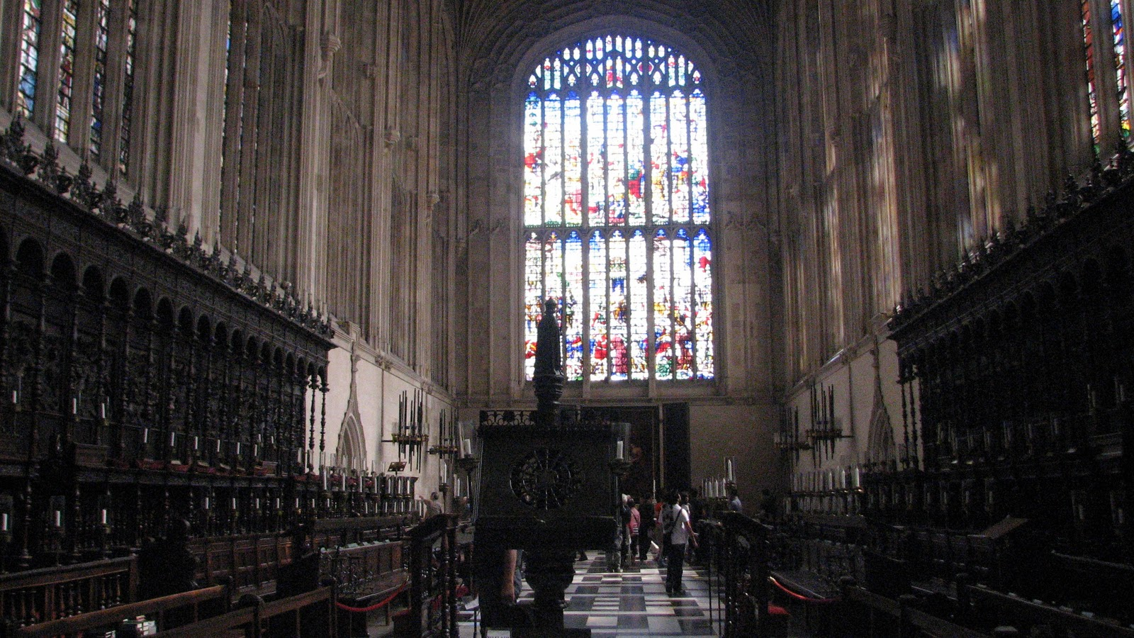 The Christmas Eve service in King´s College Chapel in Cambridge ...