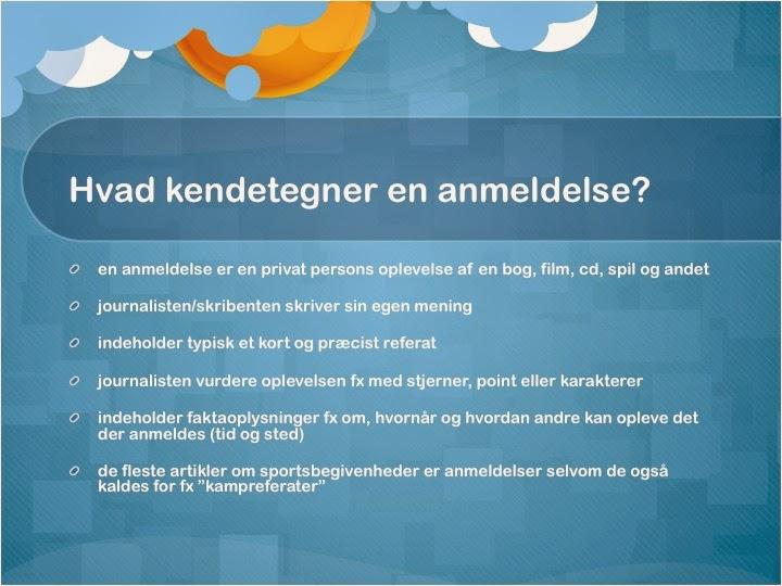 Grøns blog: Dansk