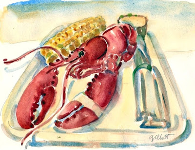 Adieu Lobster by Carol Gillott