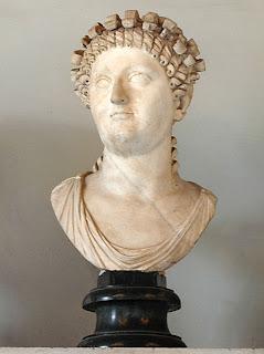 Statilia Messalina, esposa de Nerón  - a.35- 68 d.C.