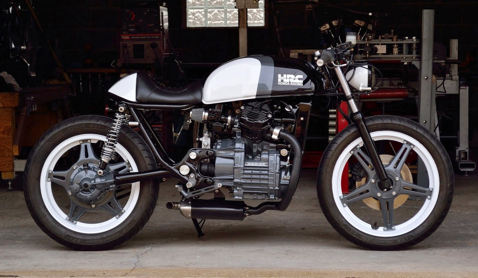 Racing Caf U00e8  Honda Cx 500 By Kustom Research