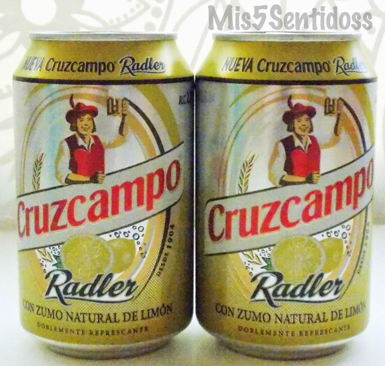 Degustabox agosto 2014 Cruzcampo Radler