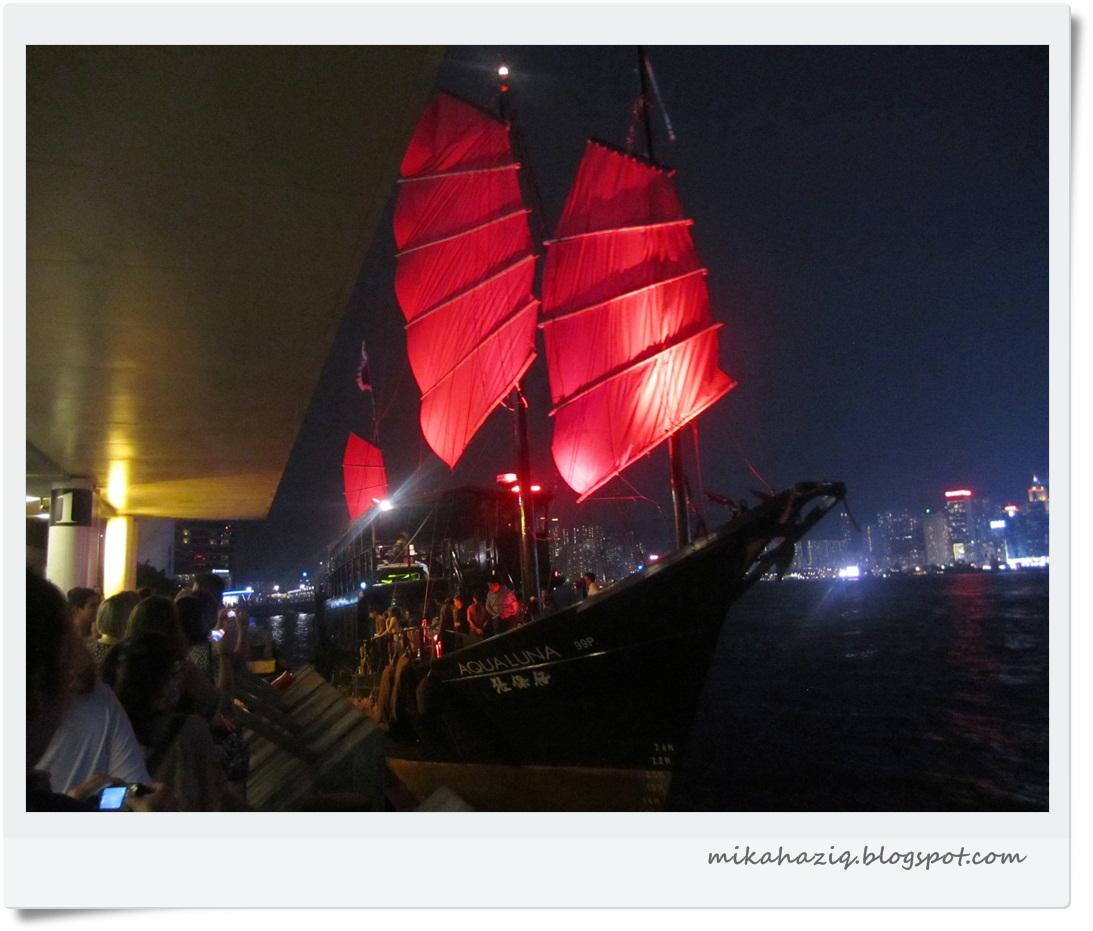 Mikahaziq: Jalan-Jalan Hong Kong: Aqua Junk