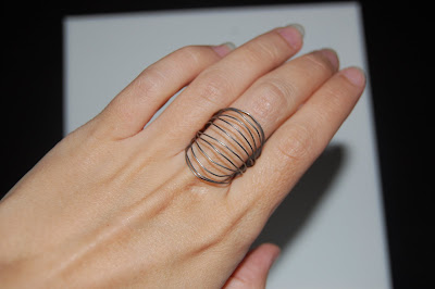 steel wire ring patsy kolesar