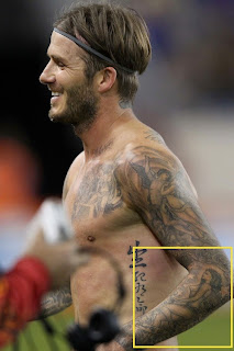 David beckhams tattoos and its meaning bayan tattoo for David beckham tattoo sleeve