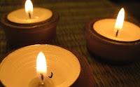 como hacer velas candelita