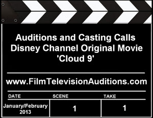 Disney Channel Cloud 9 Casting