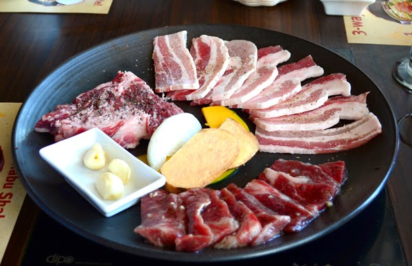 Bulgogi Brothers' Pork Belly Platter (Php1795)
