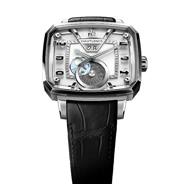 Hautlence Destination 02 Watch silver