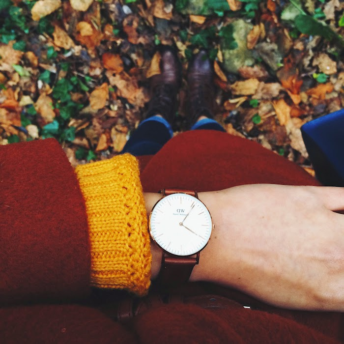 ANGELICA ARDASHEVA DANIEL WELLINGTON WATCH