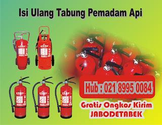 Isi Ulang Tabung Pemadam Api | Refill Alat Pemadam Kebakaran (Apar)