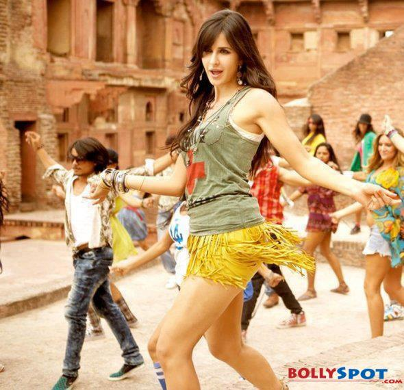 Katrina Kaif Hot Sexy Dance Bollwood Movie Wallpaper Poster