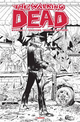 The Walking Dead #1 - edizione prova d'artista
