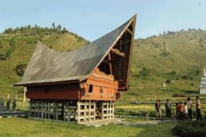 rumah adat sumatera utara sumut Rumah tradisional balai batak toba Gambar Rumah Adat Indonesia