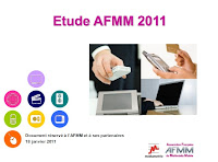 Le slide du mercredi : Etude du micro paiement  2011 - AFMM - Médiamétrie