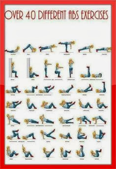 http://www.pinterest.com/abmachines/ab-workouts-exercises/