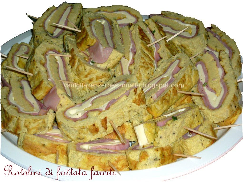 spesso Il bistrot di Valeria: Rotolini di frittata farciti e altre  ZJ29