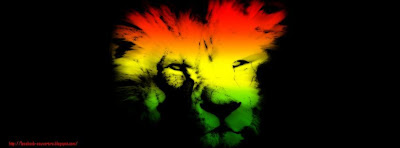 Couverture facebook lion rasta