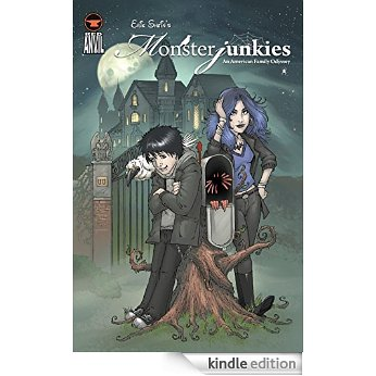 The Monsterjunkies, now available as a graphic novel!