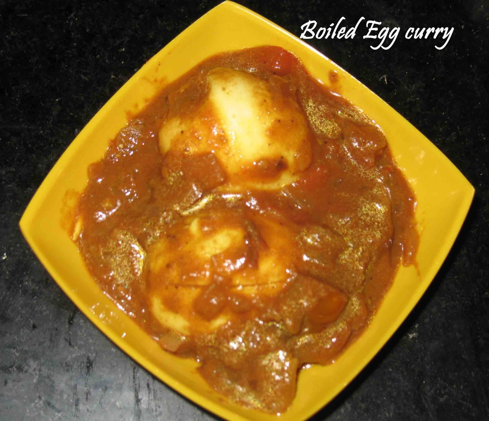 Boiled Egg curry - Sujitha Easycooking