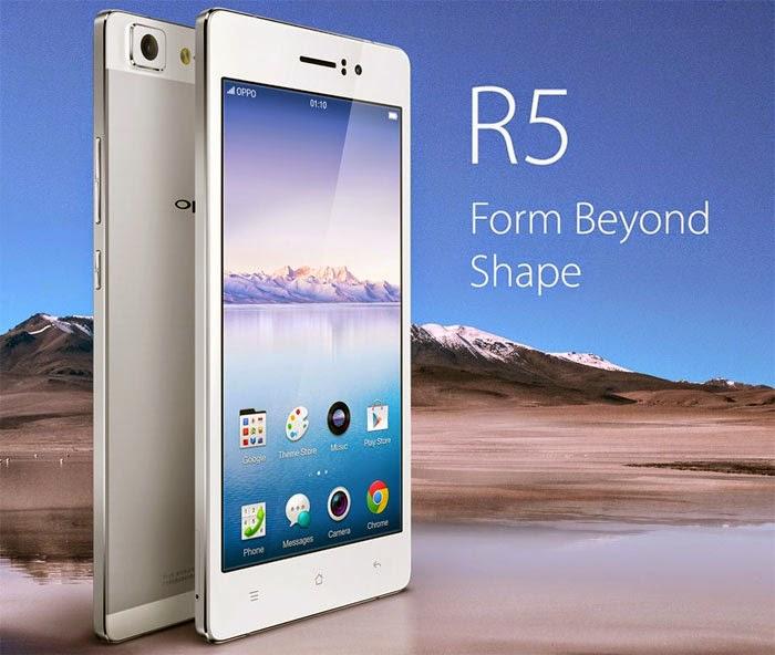 Harga Oppo R5 HP Android Tertipis Di Dunia
