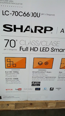 Sharp LC-70C6600U 70in for watching shows and movies