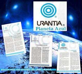 Collage Boletin Urantia Planeta Azul