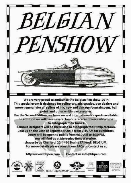 Pen Show Belgian