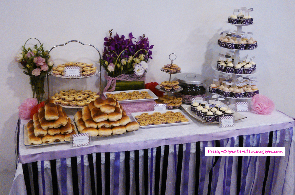 Pretty cupcake ideas may 2013 - Tables roulantes dessertes ...