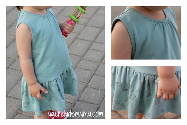 Vestido de verano para niña