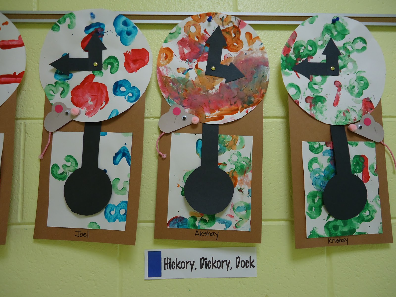 hickory dickory dock activities for preschool preschool mount prospect learning colors and 425