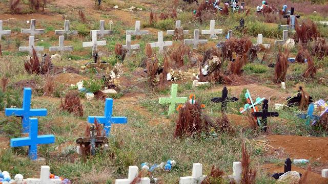 Cementerio San Juan Chamula
