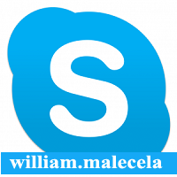 SKYPE ME AT wiilliam.malecela