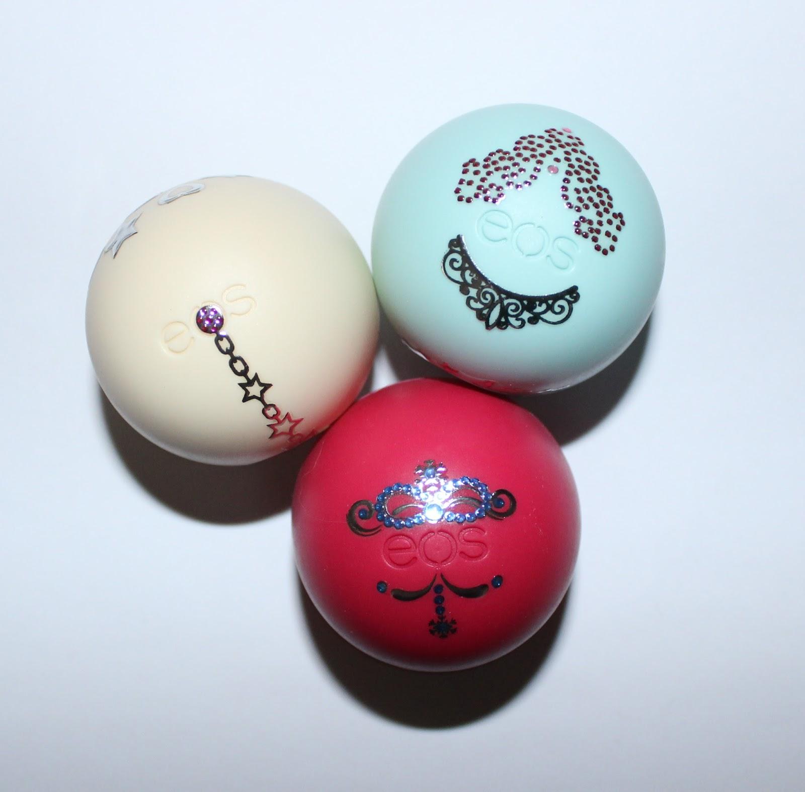 Beyond Blush: eos Holiday 2015 Decorative Lip Balm Collection
