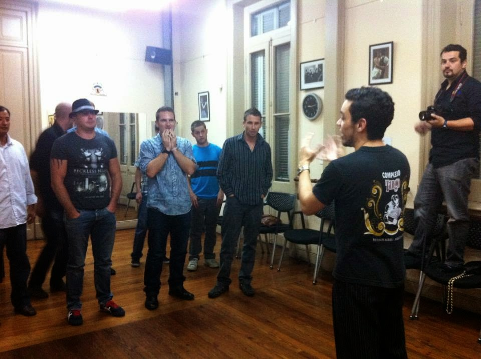 Complejo Tango lesson, Buenos Aires