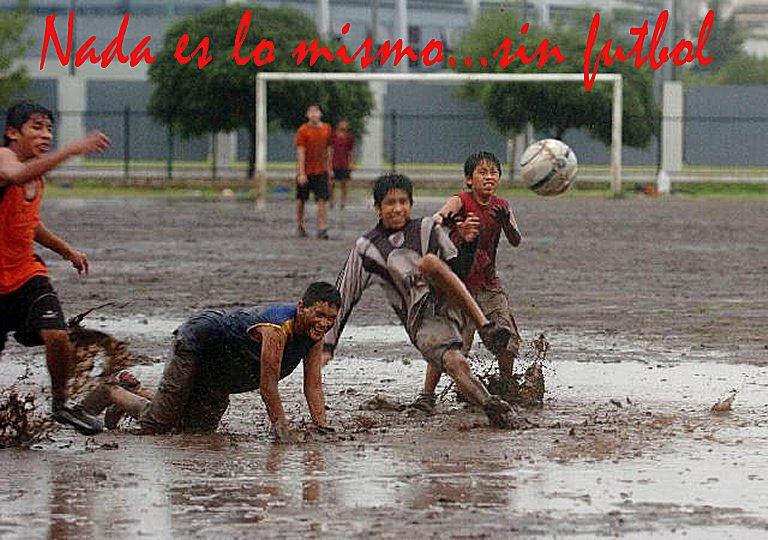 Nada es lo mismo sin fùtbol