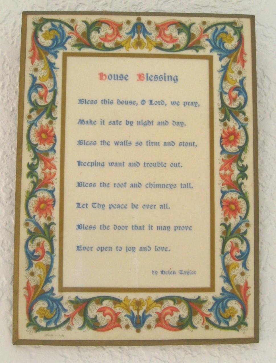 irish wedding blessing or new home blessing lucky stars