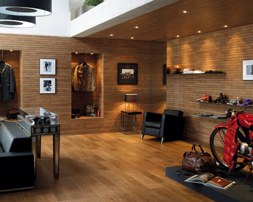 Porcelanosa Takes Its Ceramic Parquet To The Walls Of Cersaie 2013