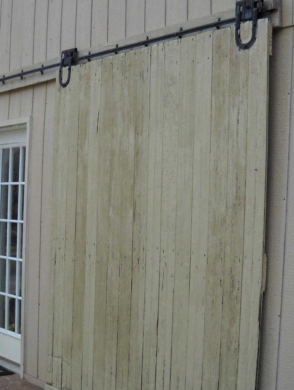 rolling barn door