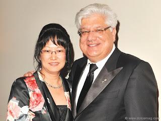 pendiri blackberry dan istrinya