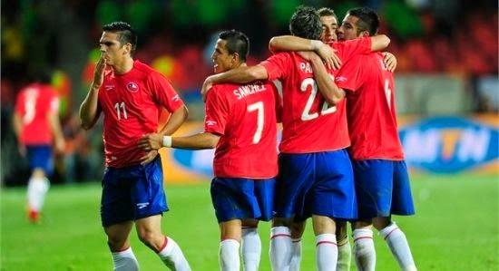Seleccion Chilena Mundial Brasil 2014