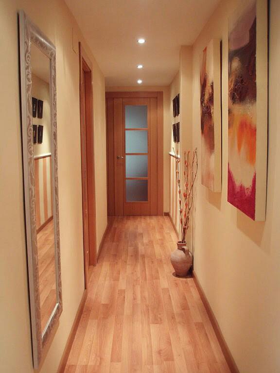 Hogar diez decorar pasillos estrechos - Espejos para pasillos ...