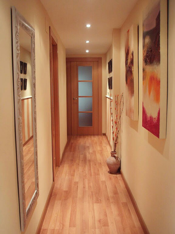 Hogar diez decorar pasillos estrechos for Espejos para pared completa