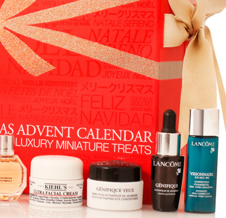 beauty calendario de adviento