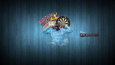 HD Mario Balotelli Widescreen Wallpaper