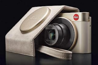 Leica C Dark Red and Light Gold, Leica C, luxury camera, new leica camera, new digital camera, panasonic LF1, leica lens, Wi-Fi, NFC, Adobe Lightroom, Full HD video,