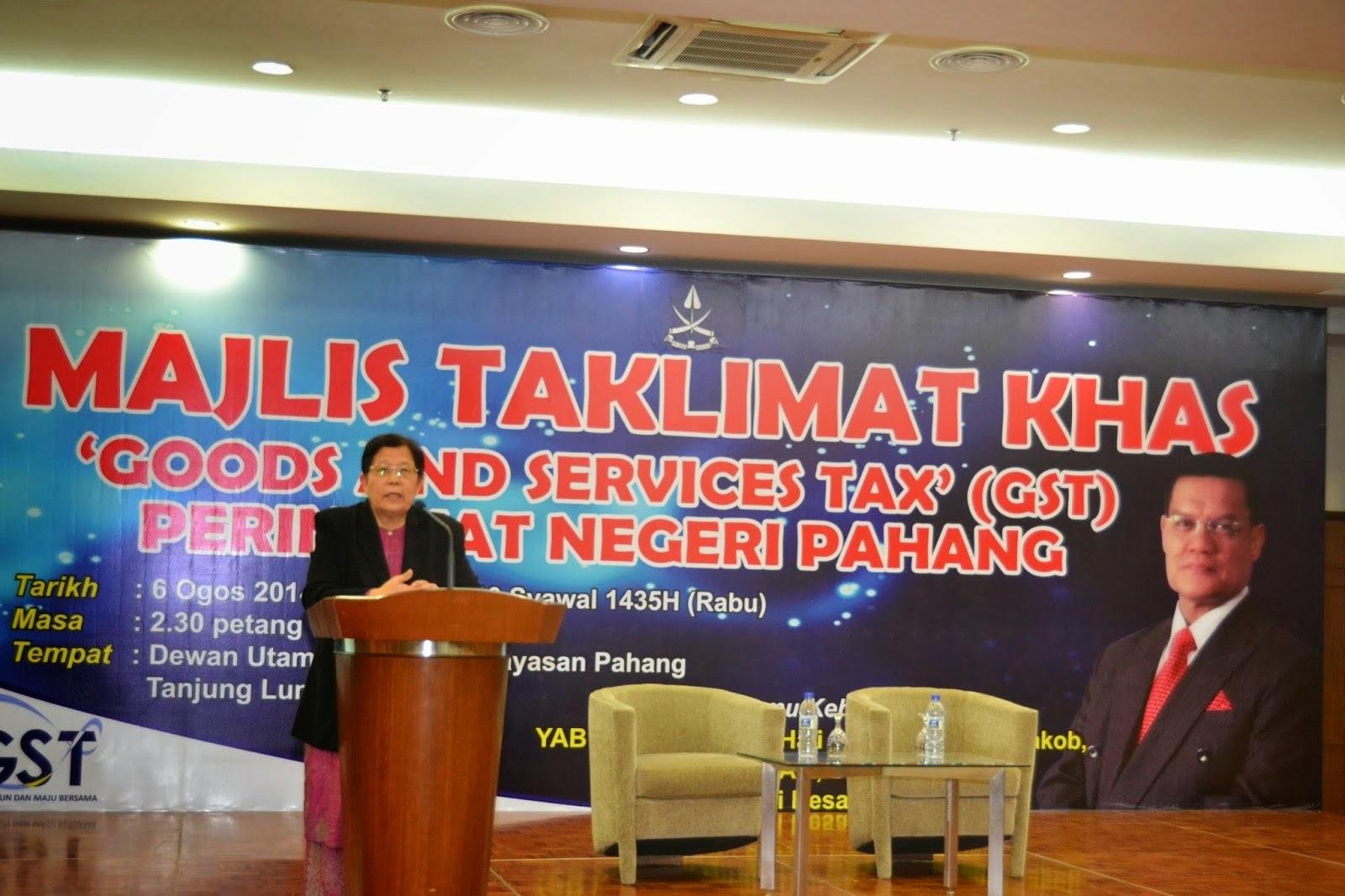 Pahang Kutip Cukai Sebanyak RM556juta 7 Bulan Pertama