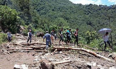 bhadaure kaski pokhara landslide