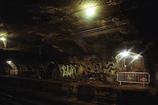 Estación de Chamberí antes